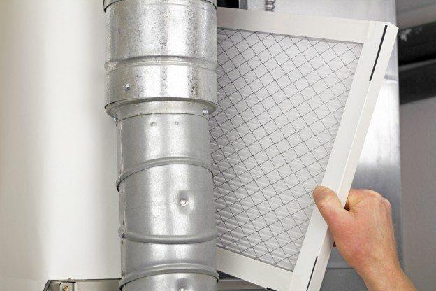 Changing HVAC Filter