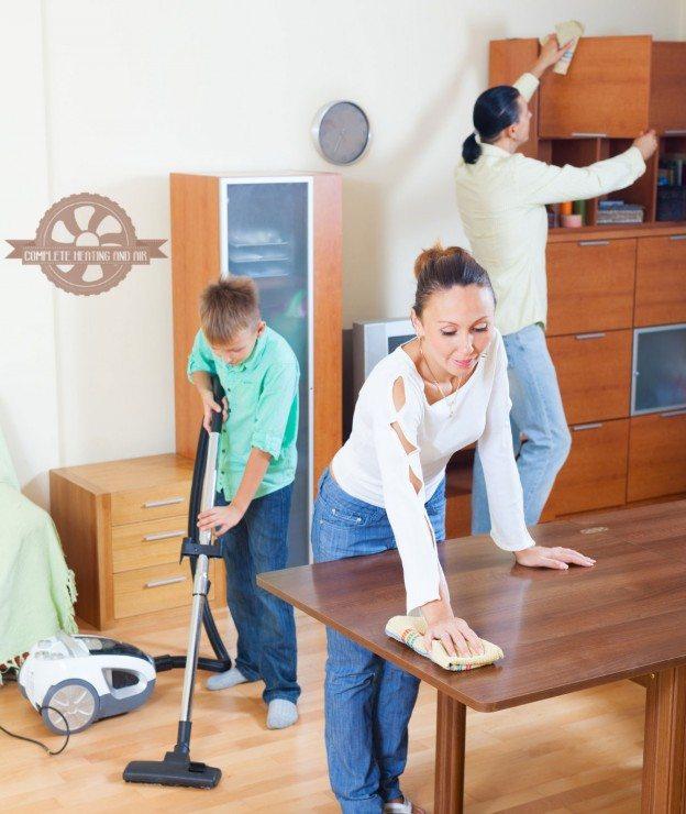 Four Steps To A Clean Home Air