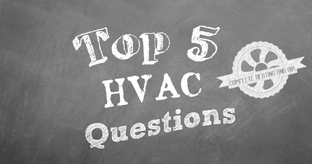 What Are The Top 5 Questions About HVAC?